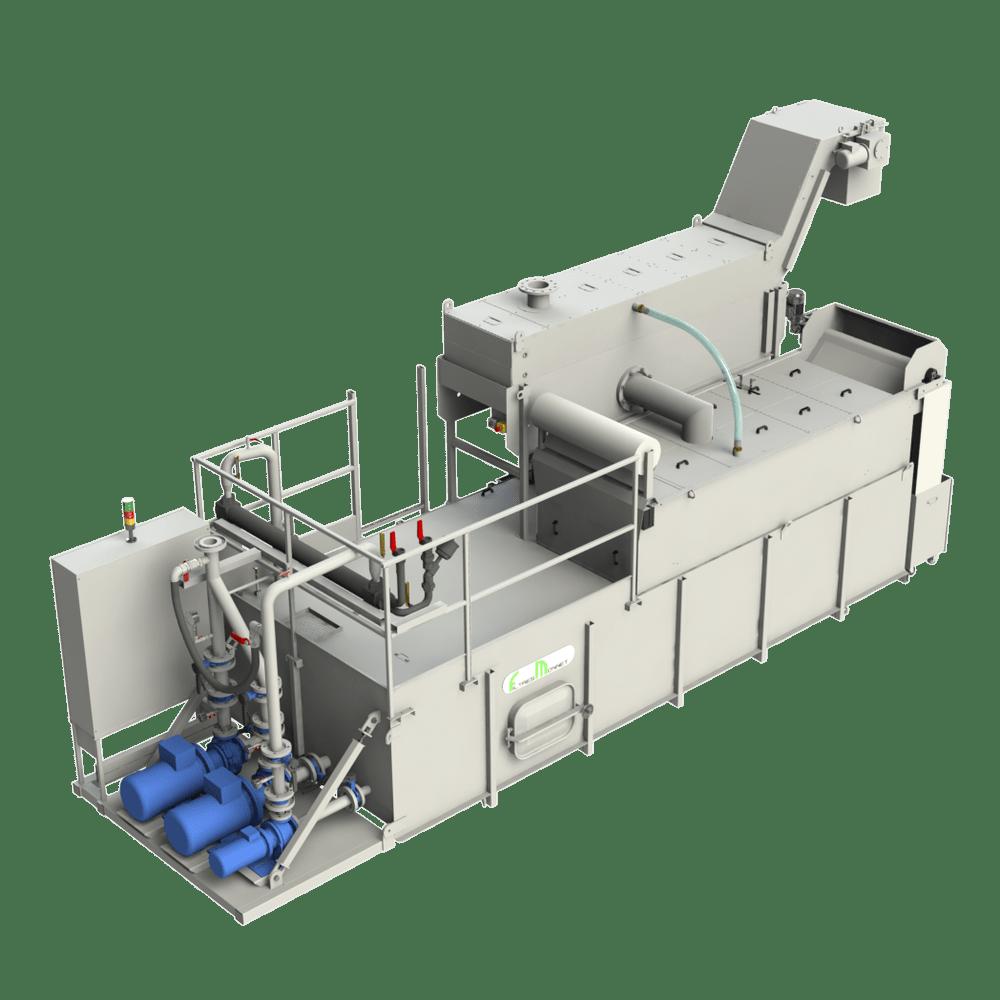 Filtres MONNET assemble des centrales pour le fraisage et le perçage
