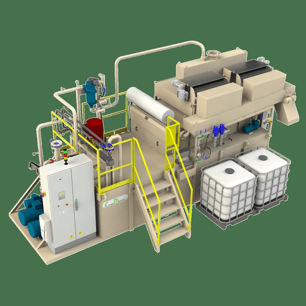 Filtres MONNET assemble des centrales pour les machines de rectification