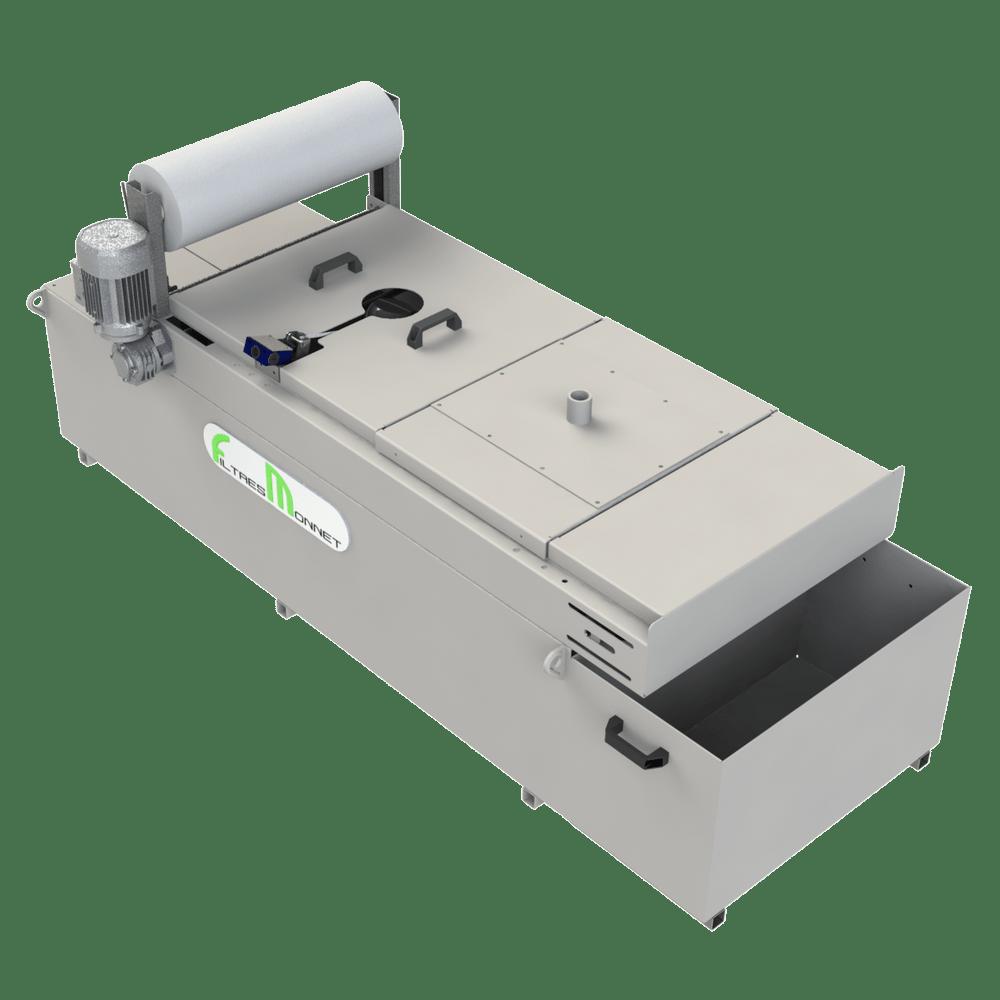 Filtres MONNET assemble des centrales pour le traitement d'eau