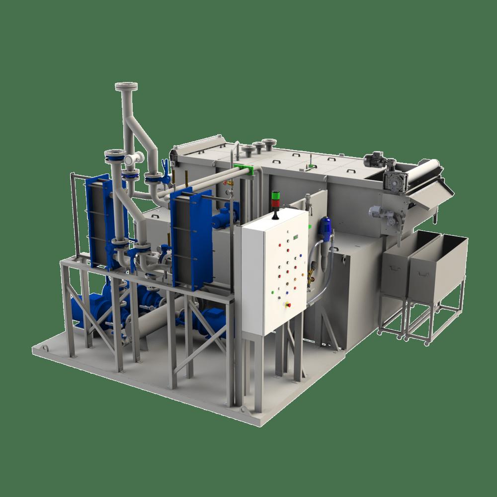 Filtres MONNET assemble des centrales pour le traitement thermique